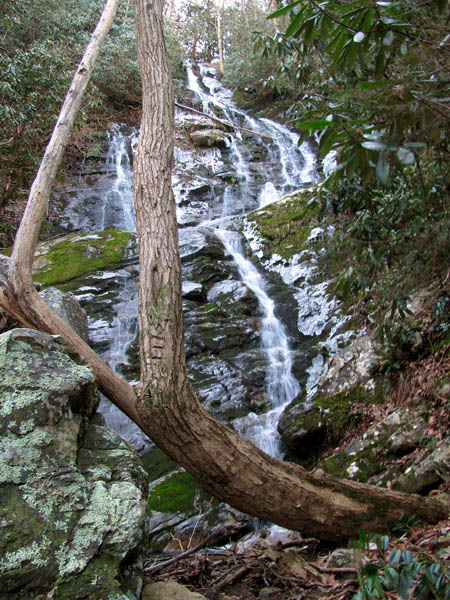 Upper part of Painter Creek Falls