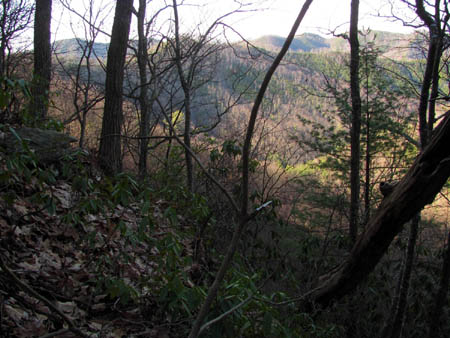 View of Longarm Ridge and Sampson Mountain