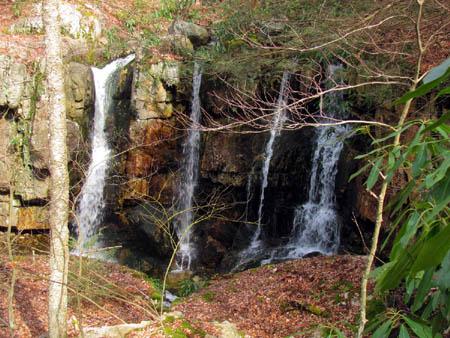 Upper Dick Creek Falls