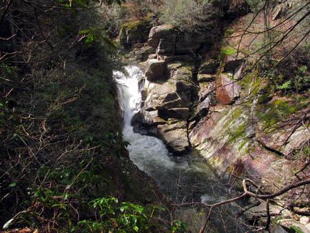 View of Twisting Falls