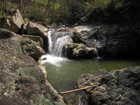 Trashcan Falls