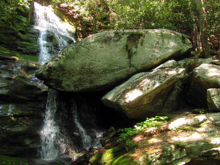 Upper Little Lost Cove Creek Falls