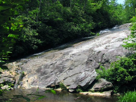 Chestnut Cove Branch Falls (NC)