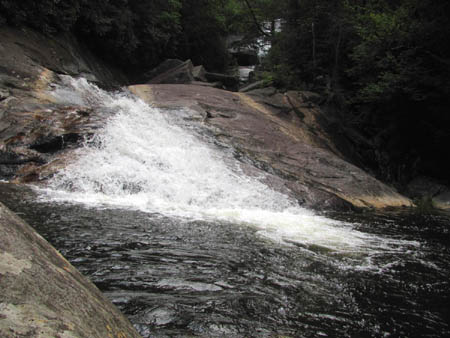cascades and upper creek falls