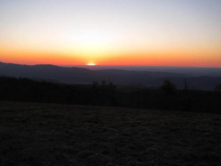 Sunset from Beauty Spot