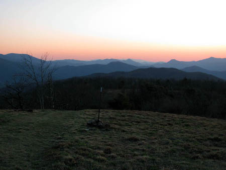 Sunset from Beauty Spot