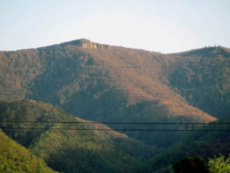 Viking Mountain and Blackstack Cliffs