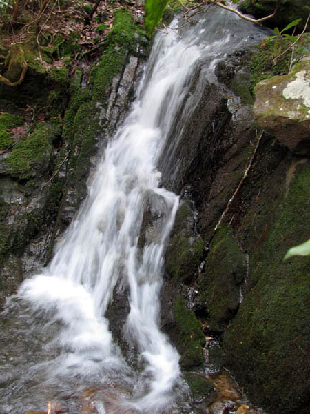 Hell Hollow Falls (right)