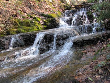 Small Falls at Shelter spring