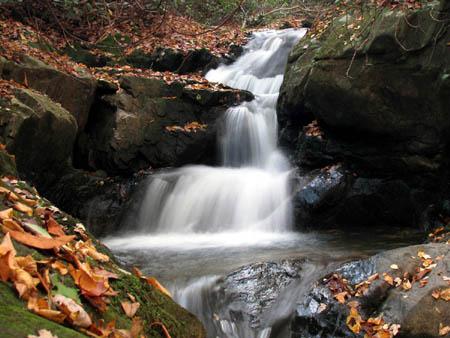 Devil Fork Falls (upper)