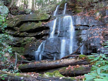 Sulpur Spring Branch Falls (upper)
