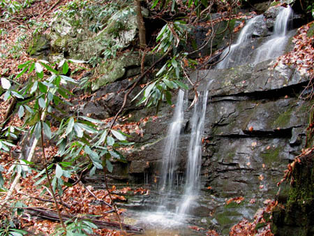 Lower part of Middle Wilderness Falls