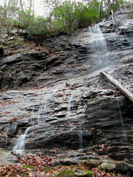 Upper part of Middle Wilderness Falls