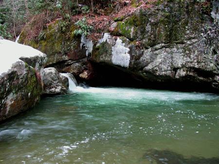 Upper Rocky Fork Falls