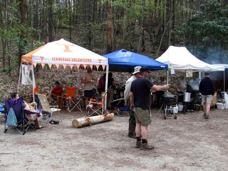 Brown Gap Hikers Feast  2011