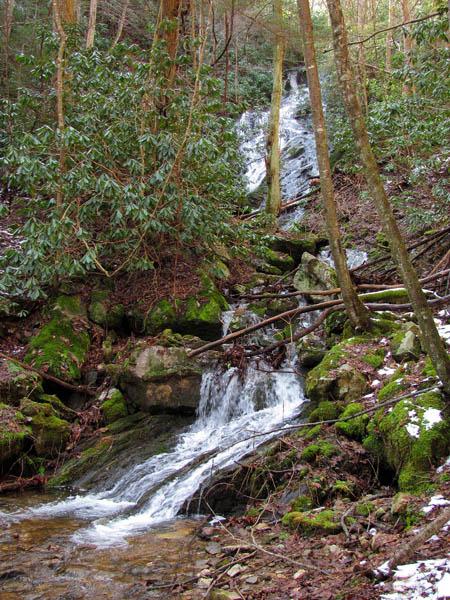 Upper Longarm Branch Falls