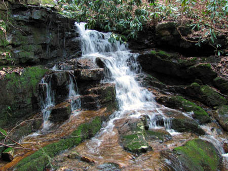 Small falls above Josiah Falls