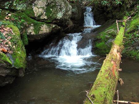 Cascades below Josiah Falls