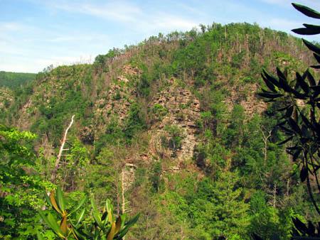 Cliffs Above Margarette Falls