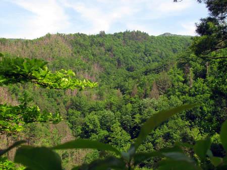 Blackstack Cliffs in the distance