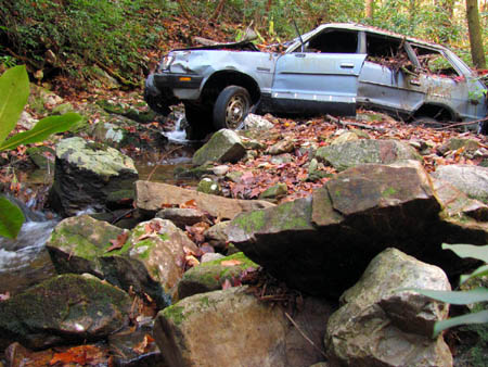 Subaru in Mine Branch