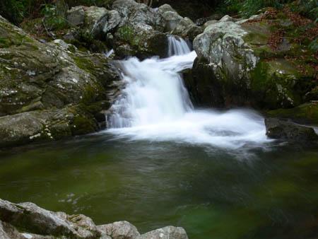 Second set of Cascades below Upper Devils Creek Falls