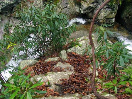 Top of Upper Devils Creek Falls