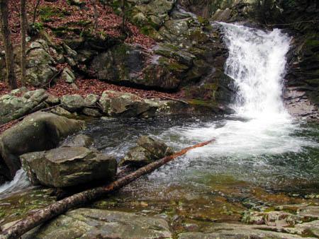 Lower half of the Upper Devils Creek Falls