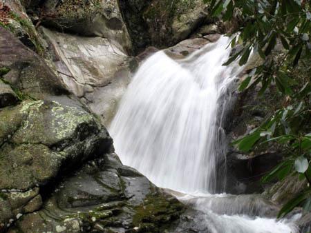 upper half of the Upper Devils Creek Falls