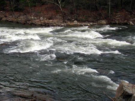 Whitewater along the Nolichucky River