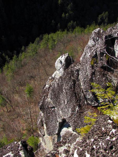 the 'Monkeyhead Rock'