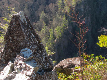 past the 'Dragon's Tooth' rock