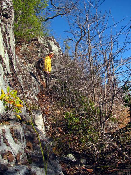 Bol'Dar on the narrow ledge